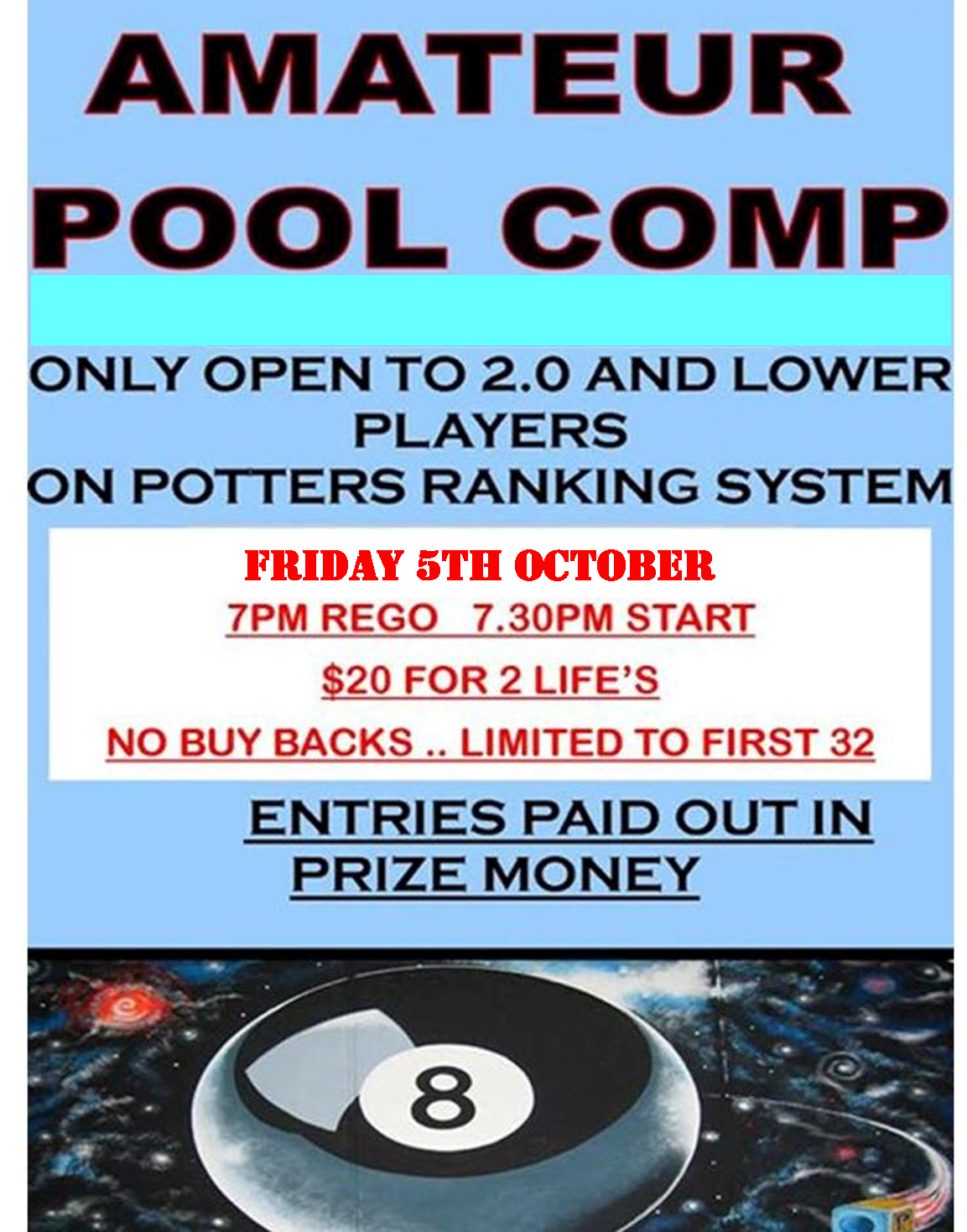 Potters Friday night comp
